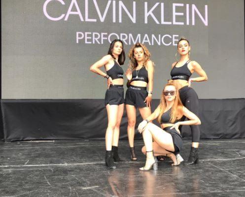 CALVIN KLEIN ŞEHRİN SPOR FESTİVALİ SWEAT FEST'E DANS FABRİKA İLE HEYECAN KATTI