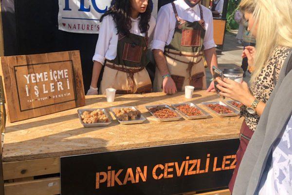 Pikan Cevizli Lezzetler İstanbul Kahve Festivali'ne Damga Vurdu