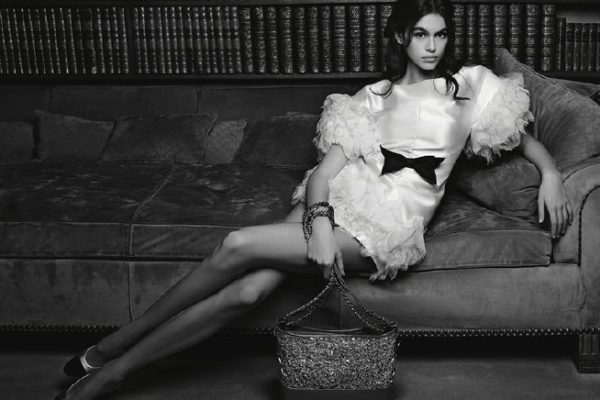 Kaıa Gerber Chanel'in yeni kampanyasında!