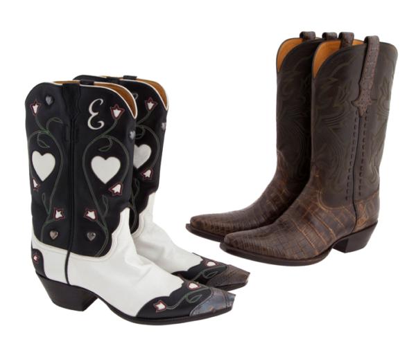 Stallion kovboy çizmeleri (800 dolar)