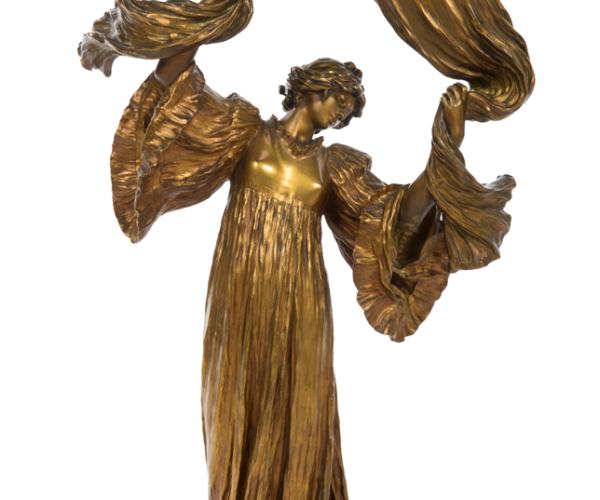 Loie Fuller bronz lamba (tahmini satış fiyatı: 20 bin dolar)