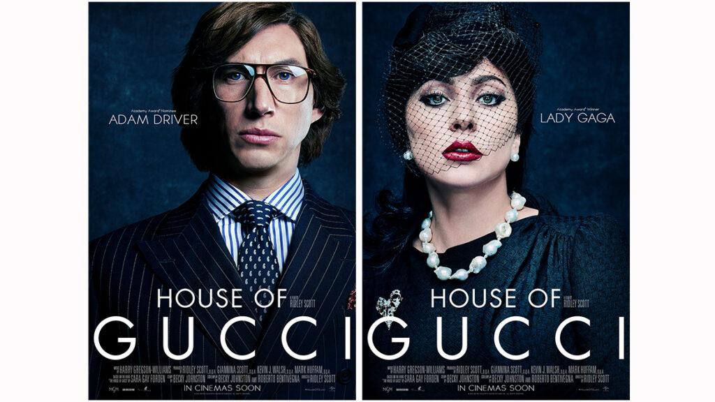 Gucci Ailesi Filminin Afişleri Yayınlandı